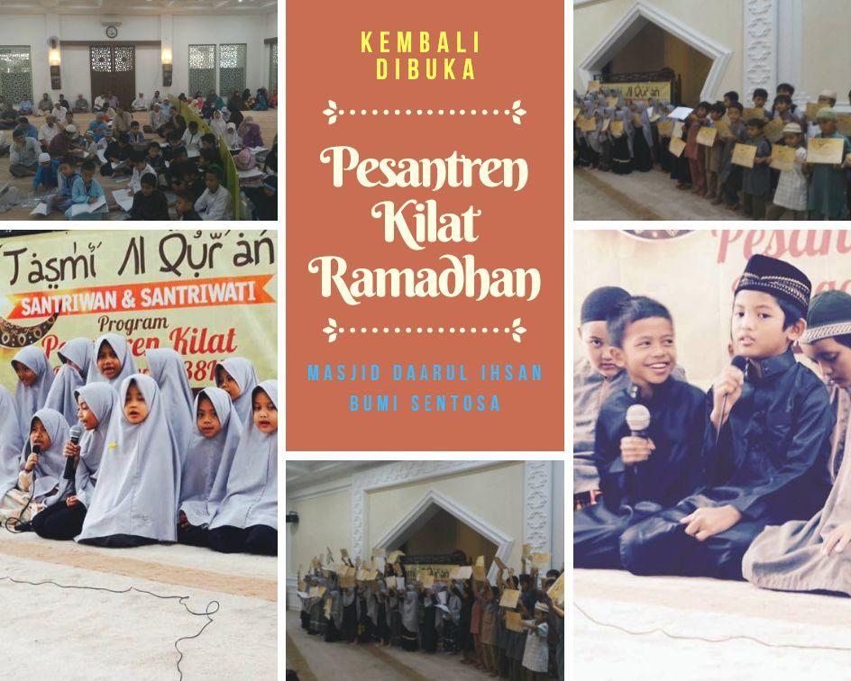 Panitia Sanlat Ramadhan 1439H Masjid Daarul Ihsan Bumi Sentosa
